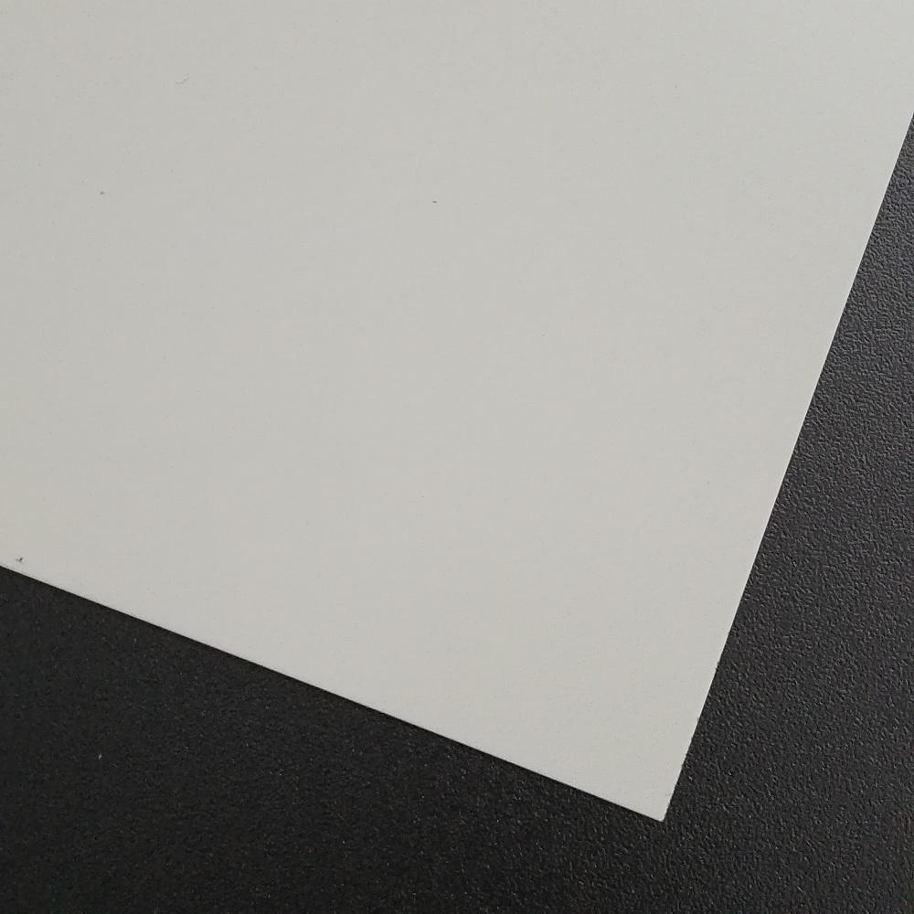 RAL9002 Grauweiß 50x25cm 0,75mm Stahlblech pulverbeschichtet feuerverzinkt Stahl